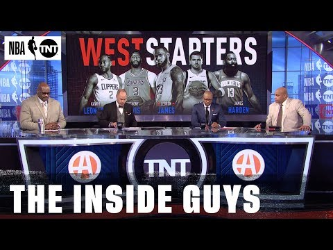 The 2020 West All-Star Starters Are Revealed | NBA on TNT