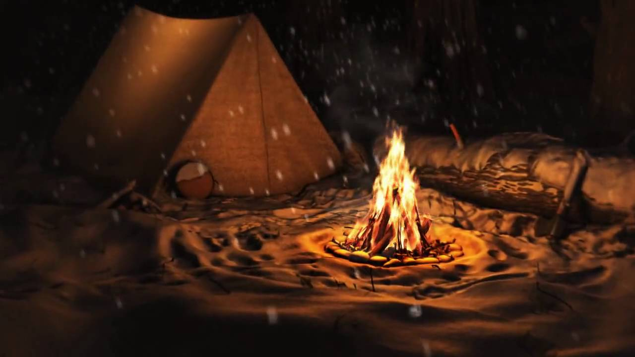campfire animation youtube
