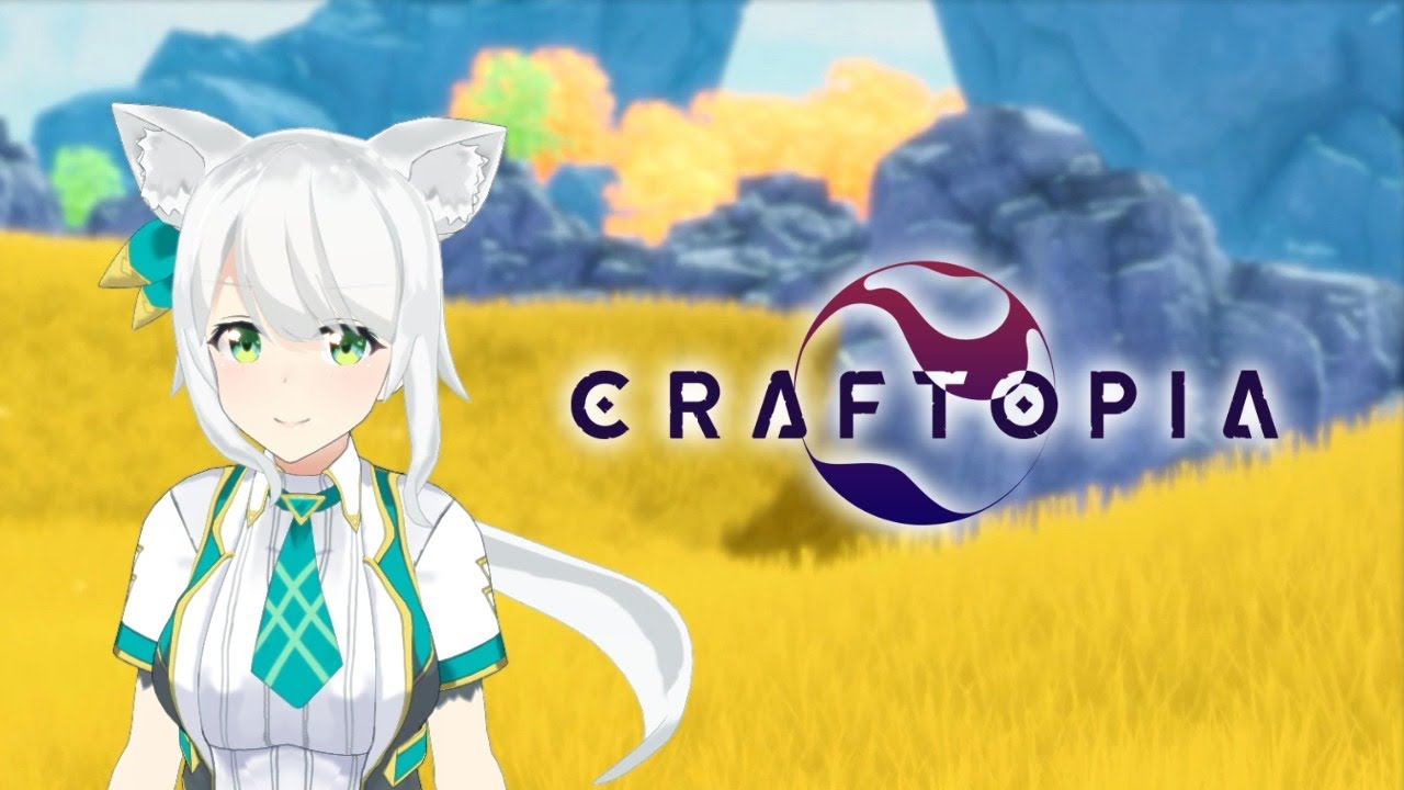【クラフトピア/Craftopia】Vtuberがゲームの世界に入れちゃうってマ!?MODで遊ぶ!【ヒヅキミウ】
