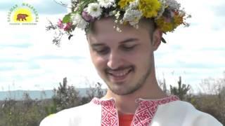 Венчание Алексея и Оксаны Думбрао, на родовом поместье