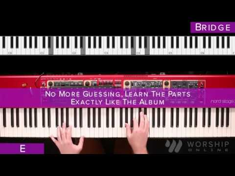 Closer - Bethel - Keyboard Tutorial - YouTube