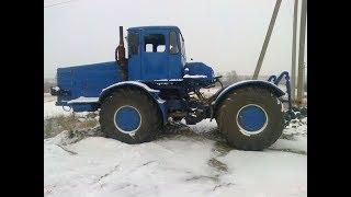 Самодельный трактор К-700 в миниатюре