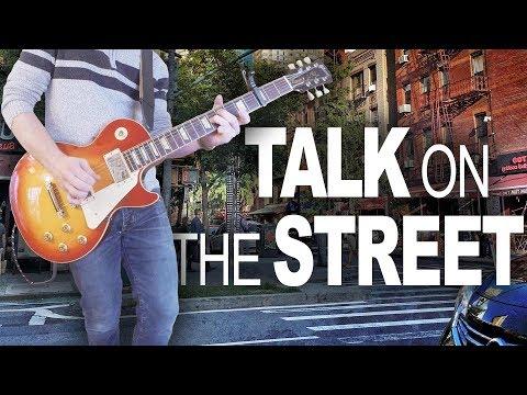 Talk On the Street Greta Van Fleet Guitar