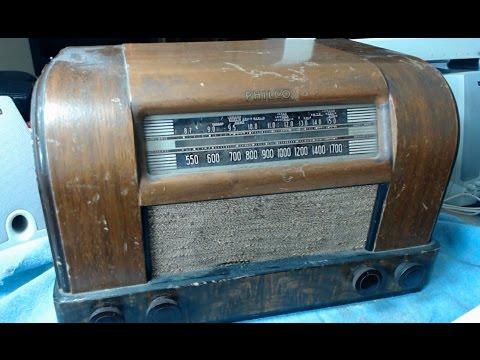 1942 Philco Model 42 340 Restore Part 1