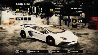 Need for Speed Most Wanted Lamborghini Aventador LP750-4 SV