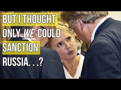 BREAKING: Russia introduces sanctions against Ukraine.