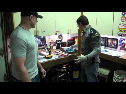 Ohlins 30mm Fork Cartridge Kit Install and Review on The Yamaha YZF-R1 STG Project Bike