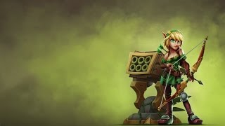 Dungeon Defenders 2: NEW HUNTRESS BOW Toxic Shock & Towering Poison Build!!