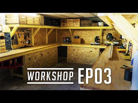 EP03 - L'atelier commence à prendre forme !