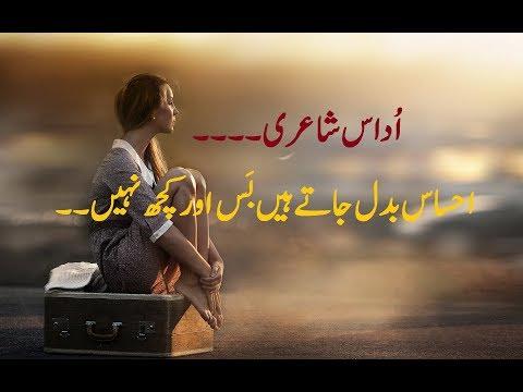 Mohabbat urdu sad poetry | sad love poetry 2 line | urdu poetry | Rehmatullah Qasim