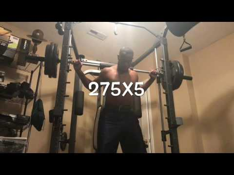 Big Three Exercise, Smith Machine