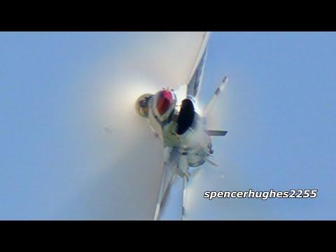 USAF Thunderbirds 2019 Huntington Beach Pier!
