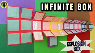 Infinite | Never Ending Explosion Box For Mother's Day - DIY Tutorial By Paper Folds - 700