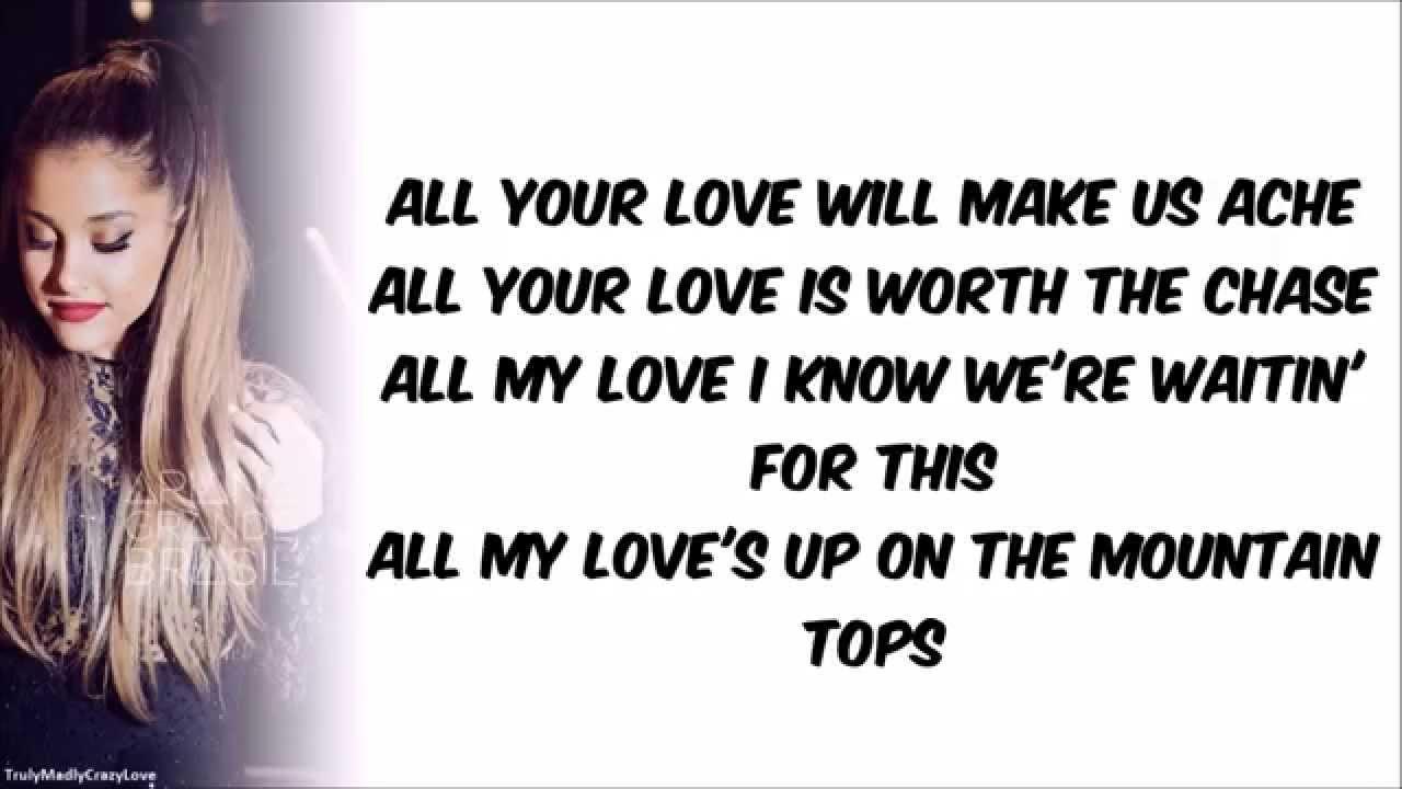 i ll be your love lyrics