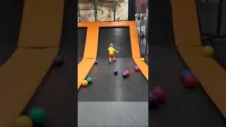 Having fun at AirTime - Aug. 14, 2018