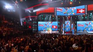 Pitbull, Jennifer Lopez , Claudia Leite - We Are One -  2014 Billboard Music Awards Performance HD