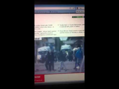 Birmingham Riots - 08/09/2011