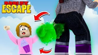 Roblox Escape Mega Fart Obby With Molly!