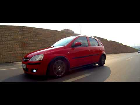 OPEL CORSA C Lowered