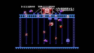 Donkey Kong Jr. (NES) Playthrough