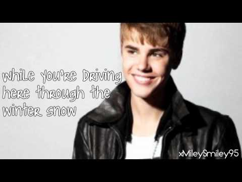 Justin Bieber ft. The Band Perry - Home This Christmas (with lyrics)