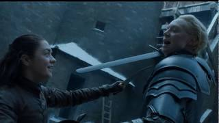 Arya Stark vs Brienne Tarth ''TÜRKÇE DUBLAJ'' Game Of Thrones 7x04