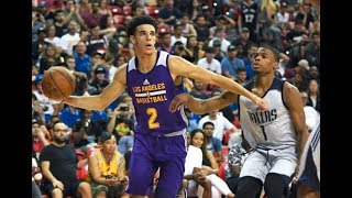 Best of Lonzo Ball, Josh Jackson, Dennis Smith Jr and the All-NBA Summer League First Team