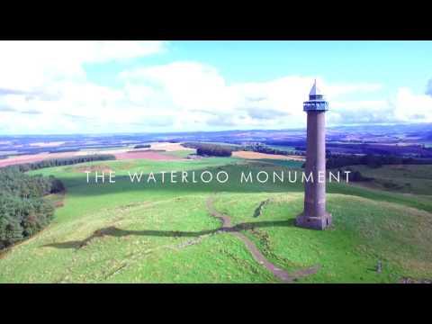 The Waterloo Monument, Peniel Heugh, Scottish Borders