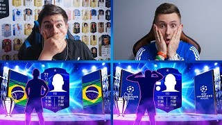 2x WALKOUT UCL vs LACHU w PACK AND PLAY UEFA CHAMPIONS LEAGUE | FIFA 19