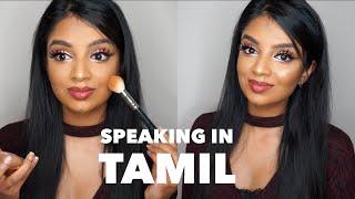 Makeup Tutorial Speaking in Tamil