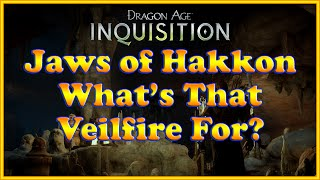 Dragon Age: Inquisition - Frostback Basin - Veilfire (Veil Fire) Brazier / Sconce