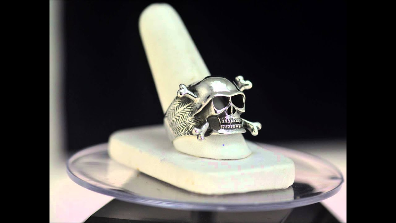 skull heavy class steel itm silver pirate metal rings stainless biker mens skeleton