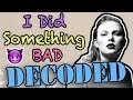 Taylor swift i did something bad hidden meaning decoded mp3