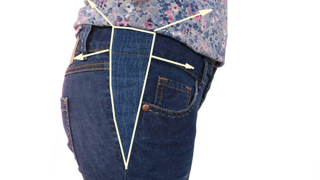 jeans hose mit einem keil erweitern so funktioniert how. Black Bedroom Furniture Sets. Home Design Ideas