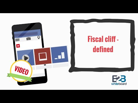 Fiscal cliff - defined