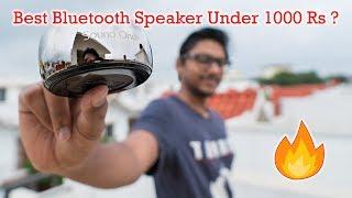 Best Bluetooth Speaker Under 1000 Rs?