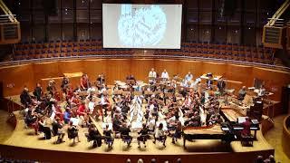 """Персимфанс+Düsseldorfer Symphoniker, Tonhalle. Ю. Мейтус. """"На Днепрострое"""" (фрагмент)"""