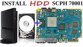 PS2 Установка внутреннего HDD на PS2 SLIM scph 7000 часть 2