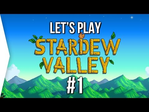 Stardew Valley #1 ► Gamer Farm [Spring]