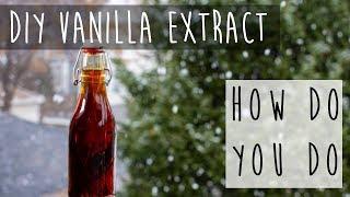 How to Make Vanilla Extract || Homemade Gift Idea