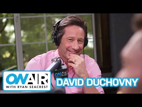 David Duchovny Reads Tanya's Text Messages  On Air with Ryan Seacrest