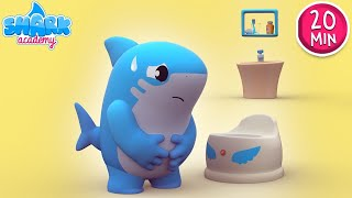 Yes, Yes go Potty! -  Baby Potty Training Song | Healthy Habits for Kids - Baby Shark Song for Kids