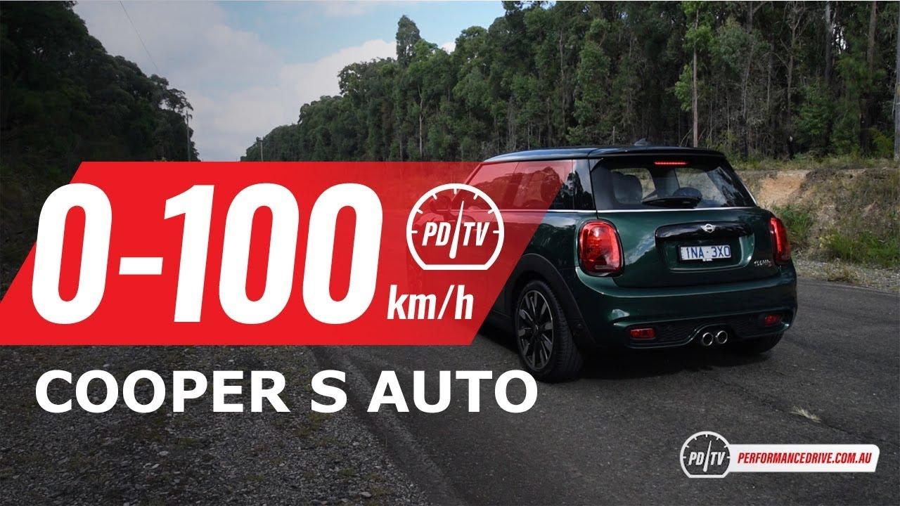 2019 Mini Cooper S Auto 0 100kmh Engine Sound Youtube