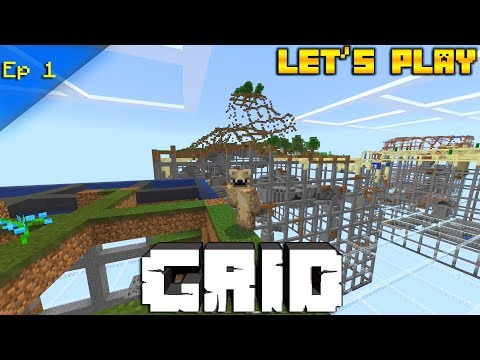 Minecraft: Abstraction GRID Lets Play Ep 1(Minecraft Store Map)