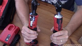 """Snap-On 14.4 V MicroLithium 3/8"""" & 1/4"""" Drive Cordless Ratchet Review"""
