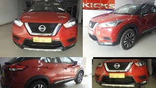 NISSAN KICKS : Most Detailed Review 2019 | Variants Explained In Detail ,XV Premium Plus Top Variant