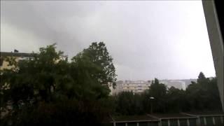 Unwetter Hagel Graz 12 06 2018