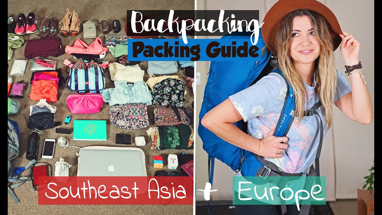 50982298ac8c BACKPACKING Packing Guide