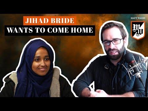 Jihad Bride Wants To Come Home   The Matt Walsh Show Ep. 203