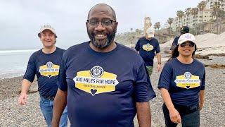 California American Legion members kick of 100 Miles for Hope breakout challenge